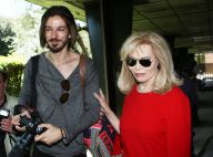 Amanda Lear : Avec son jeune amant Marco Piraccini, la dolce vita à Rome