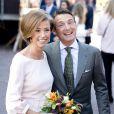 La princesse Marilène et le prince Maurits assistait avec la reine Maxima et le roi Willem-Alexander des Pays-Bas au Koningsdag (Jour du roi) à De Rijp, le 26 avril 2014 à l'occasion des 47 ans du souverain