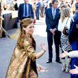 La princesse Aimée d'Orange-Nassau assiste avec la reine Maxima et le roi Willem-Alexander des Pays-Bas au Koningsdag (Jour du roi) à De Rijp, le 26 avril 2014 à l'occasion des 47 ans du souverain