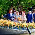Le roi Willem-Alexander et la reine Maxima des Pays-Bas célébraient pour la première fois de l'histoire des Pays-Bas le Koningsdag (le Jour du roi) à de Rijp, le 26 avril 2014 à l'occasion des 47 ans du souverain, en compagnie de leurs filles Catharina-Amalia, Alexia et Ariane, ainsi que de la princesse Beatrix, le prince Constantijn et son épouse la princesse Laurentien Brinkhorst, la princesse Margriet et son époux Pieter van Vollenhoven, le prince Bernhard et la princesse Annette