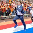 Le prince Pieter-Christiaan lors des célébrations du Koningsdag (Jour du roi) à De Rijp, le 26 avril 2014