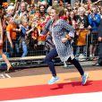 La princesse Annette lors des célébrations du Koningsdag (Jour du roi) à De Rijp, le 26 avril 2014