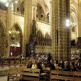 1 500 personnes s'étaient rassemblés en la cathédrale de Barcelone pour les obsèques de Tito Vilanova l'ex-entraîneur du Barça, le 28 avril 2014
