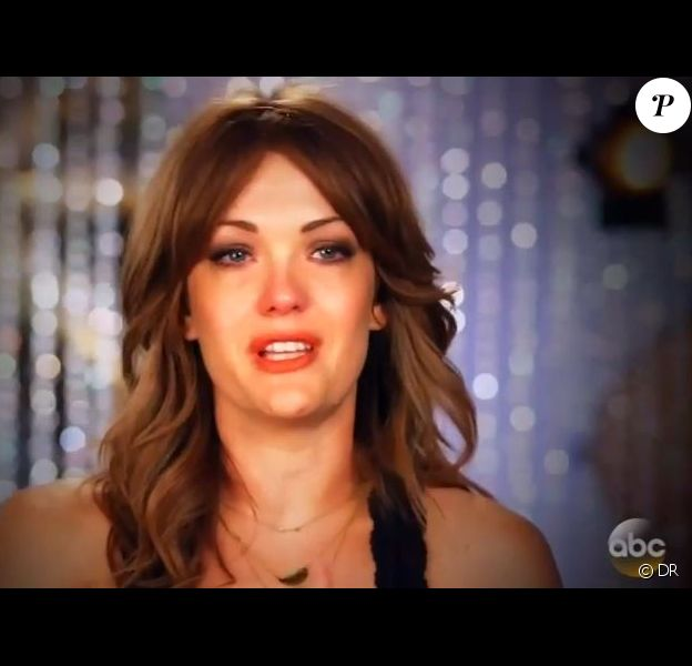 Amy Purdy, dans Dancing with the Stars, le 28 avril 2014.