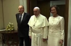 Sofia et Juan Carlos Ier d'Espagne : Moments historiques avec le pape François