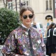 Olivia Palermo, modeuse accomplie, ne quitte plus ses lunettes Dior So Real