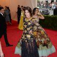 Bianca Brandolini d'Adda assiste au MET Gala au Metropolitan Museum of Art. New York, le 5 mai 2014.
