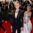 Amber Valletta assiste au MET Gala au Metropolitan Museum of Art. New York, le 5 mai 2014.