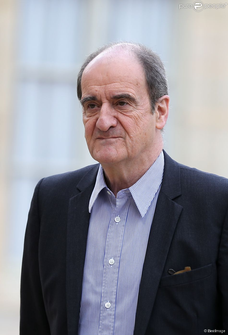 Pierre Lescure, à Paris, le 30 avril 2014.