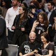 Olivia Wilde etd Jason Sudeikis asssitent au match Playoff des Miami Heat Vs Brooklyn Nets le 10 mai 2014