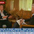 Donald Sterling accuse Magic Johnson d'avour couché avec toutes les filles des Etats-Unis et d'avoir contracté le sida, lors d'un entretien accordé à CNN et diffusé le 12 mai 2014