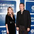 Heath Ledger et Michelle Williams lors des Gotham Awards à New York le 30 novembre 2005