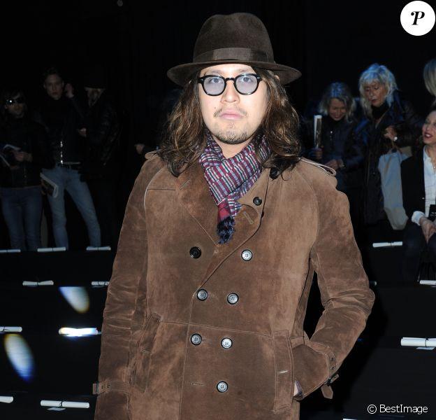 Lulu Gainsbourg à Italie, le 14 janvier 2012.
