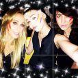 Miley Cyrus a fêté l'anniversaire de sa mère Tish, le 13 mai 2014 à Manchester.