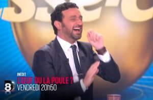Baptiste Giabiconi et Daphné Bürki : Fous rires et défis avec Cyril Hanouna