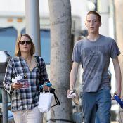 Jodie Foster avec son fils aîné Charles : Un grand gaillard de 16 ans déjà !