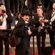 """Charlot - Montée des marches du film """"Timbuktu"""" lors du 67e Festival du film de Cannes le 15 mai 2014."""