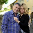 Exclusif - Jean-Marie Bigard et son épouse Lola - Le 1er Trophée du Sud des Alpes à Mougins a eu lieu sur la Côte d'Azur du 2 au 4 mai.