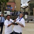 Exclusif - Jean-Marie Bigard prend un cours de pilotage de drone - Le 1er Trophée du Sud des Alpes à Mougins a eu lieu sur la Côte d'Azur du 2 au 4 mai.
