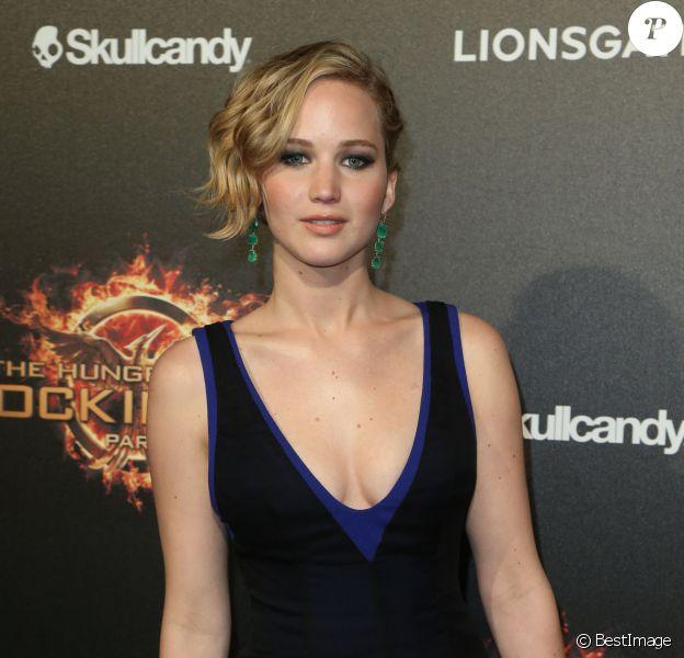 Jennifer Lawrence à la soirée Hunger Games - La Révolte au Cap d'Antibes, le 17 mai 2014.