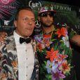 Jean-Roch et Booba au VIP Room à Cannes, le 19 mai 2014.