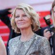 """Nicole Garcia - Montée des marches du film """"Deux jours, une nuit"""" lors du 67 ème Festival du film de Cannes le 20 mai 2014."""