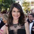 """Marion Jollès Grosjean - Montée des marches du film """"Deux jours, une nuit"""" lors du 67 ème Festival du film de Cannes le 20 mai 2014."""