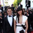 """Aurelien Wiik à la montée des marches du film """"Deux jours, une nuit"""" lors du 67 ème Festival du film de Cannes le 20 mai 2014."""