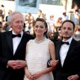 Jean-Pierre Dardenne, Fabrizio Rongione, Marion Cotillard arriving at the Palais des Festivals for the screening of the film Deux Jours, Une Nuit as part of the 67th Cannes Film Festival in Cannes, France on May 20, 2014. Photo by Nicolas Briquet/ABACAPRESS.COM20/05/2014 - Cannes