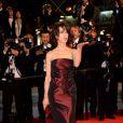 Sophie Marceau et Ryan Gosling sur le tapis rouge du 67e Festival de Cannes le 20 mai 2014.