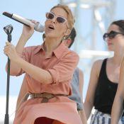 Cannes 2014 : Kylie Minogue, pimpante et sexy, victime d'un moment Marilyn