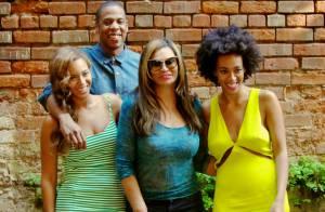 Beyoncé et Solange : Unies et radieuses avec Jay-Z, bien loin du SolangeGate
