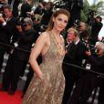 """Clotilde Courau, princesse de Savoie - Montée des marches du film """"The Search"""" lors du 67e Festival du film de Cannes le 21 mai 2014"""