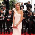 """Lady Victoria Hervey - Montée des marches du film """"The Search"""" lors du 67e Festival du film de Cannes le 21 mai 2014"""