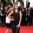 """Victoria Bonya - Montée des marches du film """"The Search"""" lors du 67e Festival du film de Cannes le 21 mai 2014"""