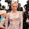"""Inna Zobova - Montée des marches du film """"The Search"""" lors du 67e Festival du film de Cannes le 21 mai 2014"""