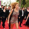 """Afida Turner - Montée des marches du film """"The Search"""" lors du 67e Festival du film de Cannes le 21 mai 2014"""