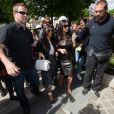 Kim Kardashian et sa soeur Kourtney sont allées faire du shopping chez Baby Dior. P