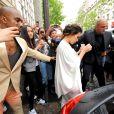 Kim Kardashian et Kanye West se rendent au Château de Versailles. Paris, le 23 mai 2014.