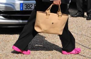 PHOTOS : Roselyne Bachelot, pari tenu... Bonjour la tenue !!!
