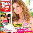 Ingrid Chauvin en couverture de Télé Star, en kiosques le 26 mai 2014