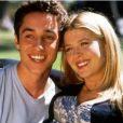 Thomas Ian Nicholas et Tara Reid dans American Pie en 1999.