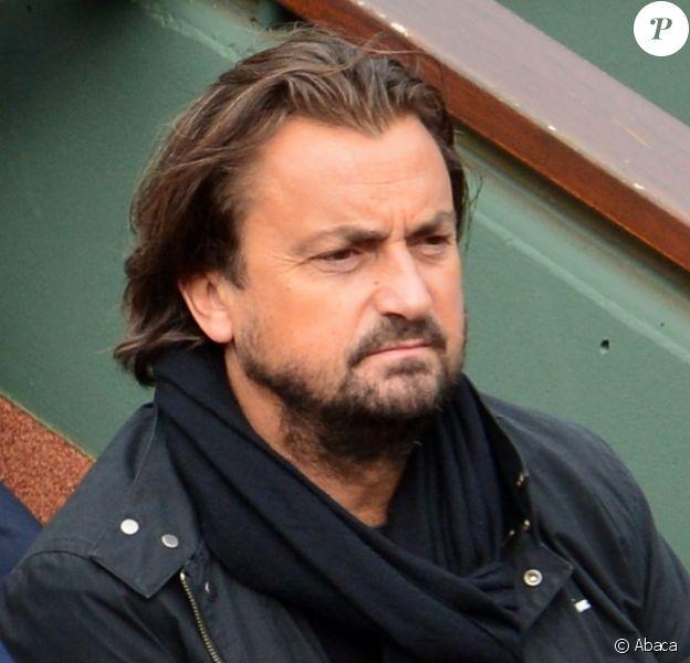 Henri Leconte dans les tribunes de Roland-Garros à Paris, le 31 mai 2013