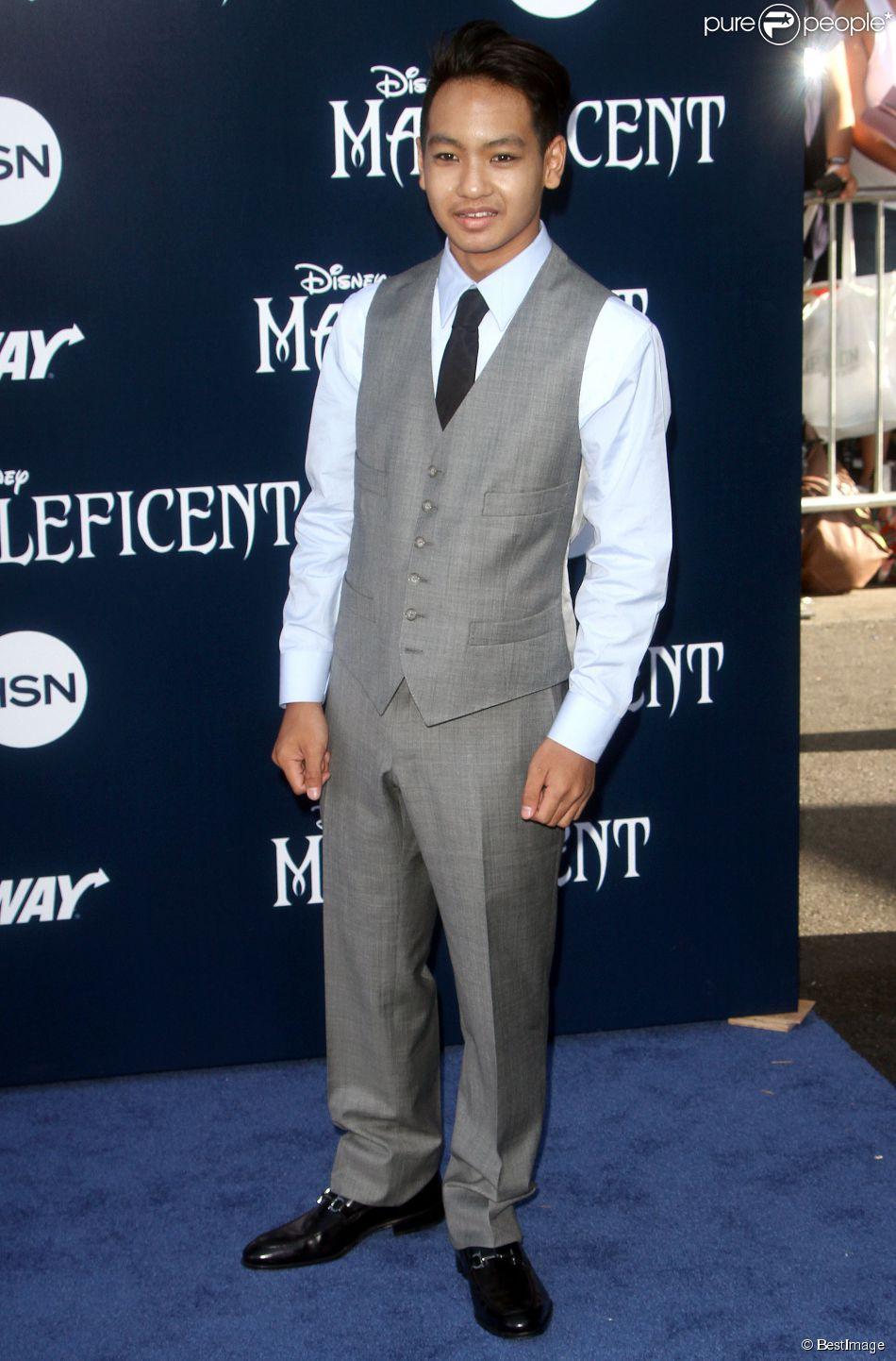 """Maddox Jolie-Pitt, le fils de Brad et Angelina - Avant-première du film """"Maléfique"""" à Los Angeles le 28 mai 2014."""