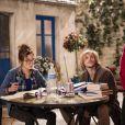 Dounia Coesens en guest dans Nos chers voisins, lors du prime diffusé le 30 mai 2014 sur TF1