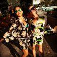 Jenna Ushkowitz et Becca Tobin, à  Hawaï, le 30 mai 2014.