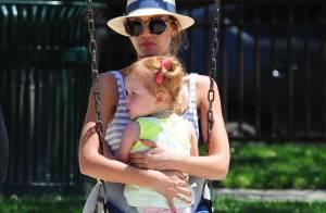 Jessica Alba : Une super maman, sublime et câline, avec sa petite Haven