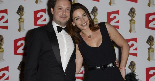 Davy sardou prix du meilleur acteur dans un second r le et sa femme no mie elbaz lors de la - Prix du meilleur architecte ...