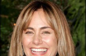 Diane Farr de la série Numb3rs, maman de jumelles !
