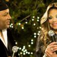""""""" LaToya Jackson a dévoilé qu'elle était fiancée avec son compagnon de longue date, Jeffre Phillips dans l'émission Good Morning America, le mercredi 4 juin 2014. """""""